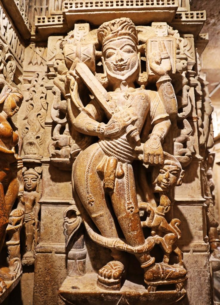 Naked statue, Jain Temple, Jaisalmer Fort