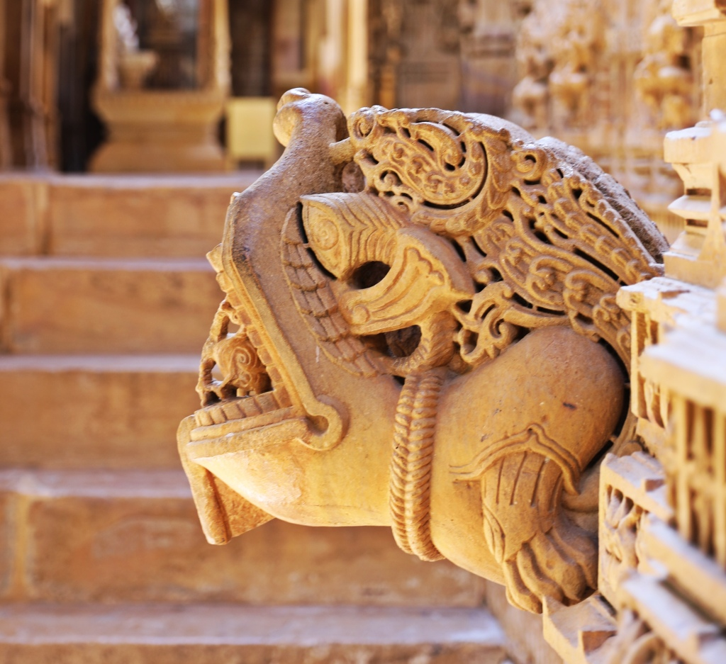 Mythical Creature, Jain Temple, Jaisalmer Fort