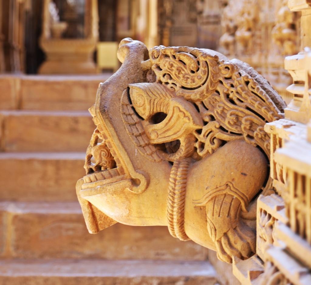 Mythical Creature, Jain Temple, Jaisalmer Fort