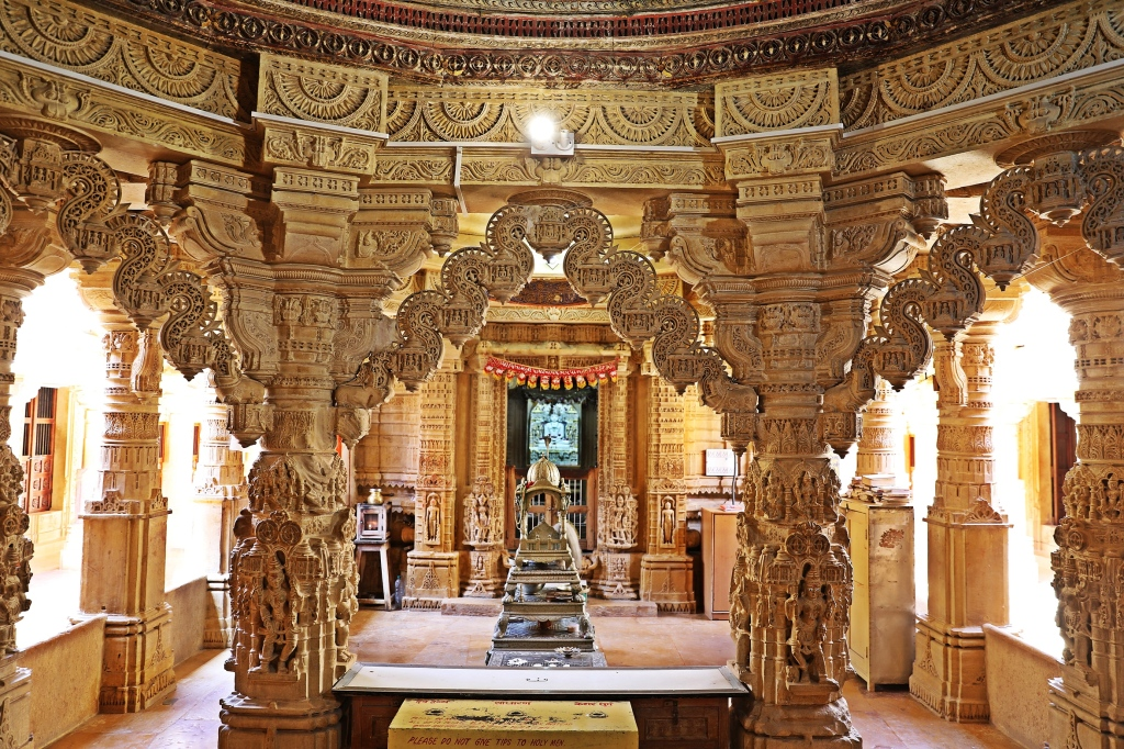 Intricately carved Torans, Jain Temple, Jaisalmer Fort
