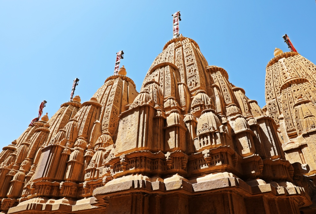 Roofs of Jain Temples, Jaisalmer Fort