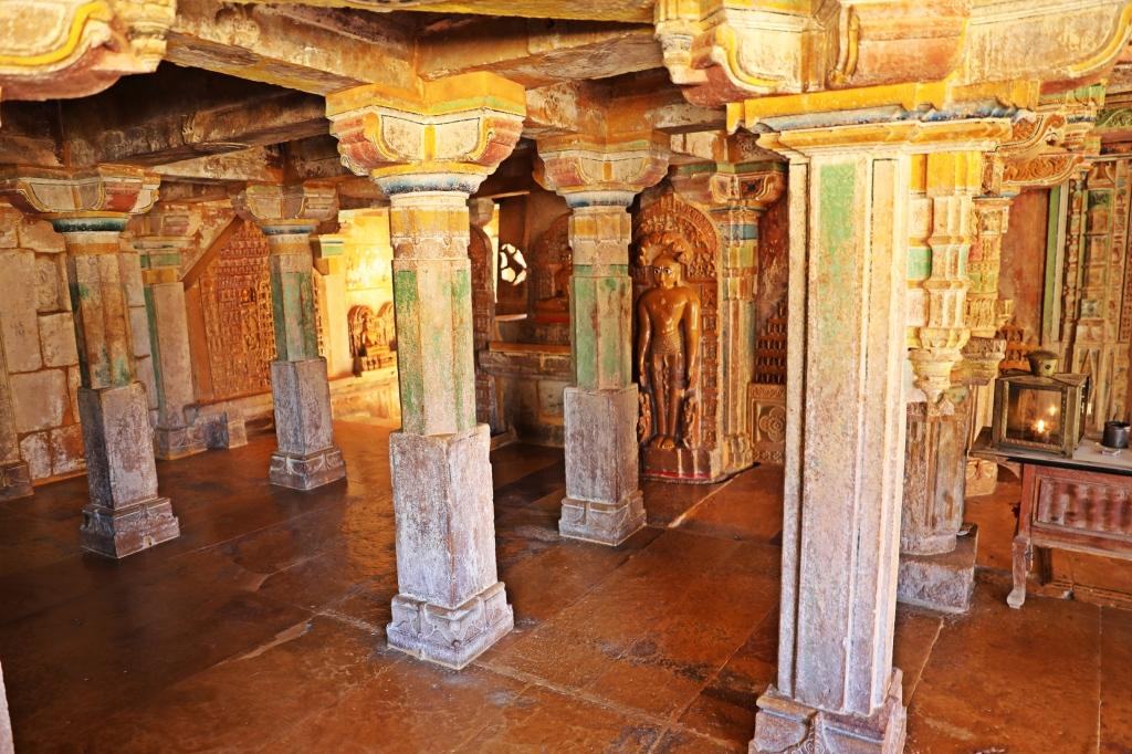 Interior of Jain Temple, Jaisalmer Fort