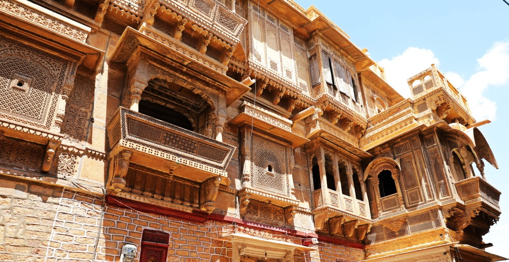 Ornate Havelis, Jaisalmer