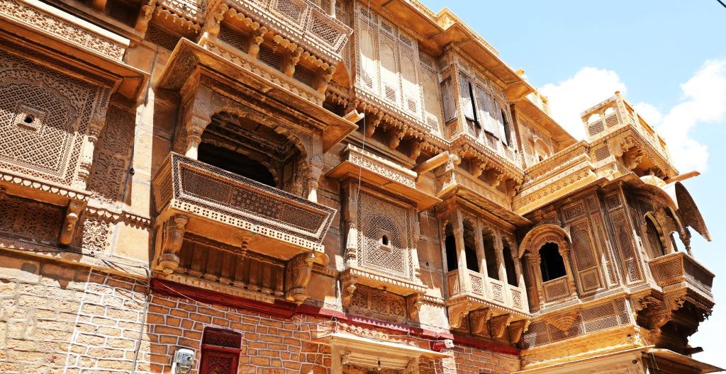 Ornate Havelis, Jaisalmer