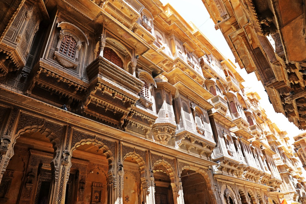 Windows of Havelis Jaisalmer