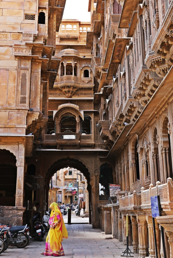 Haveli over the road, Jaisalmer