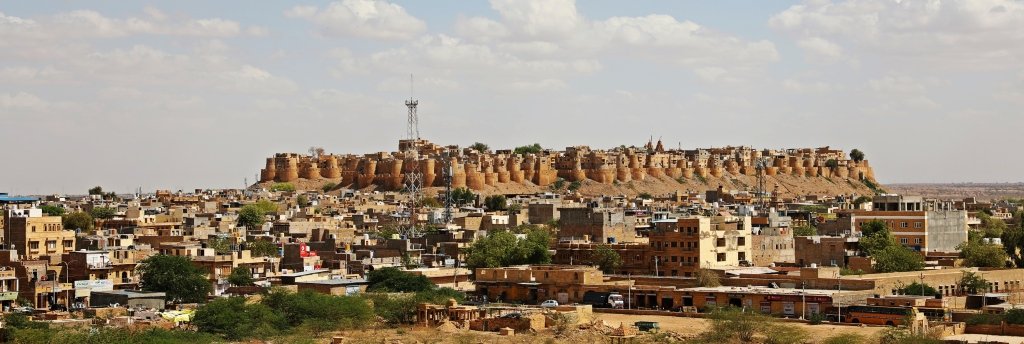 Northwest side of Jaisalmer Fort
