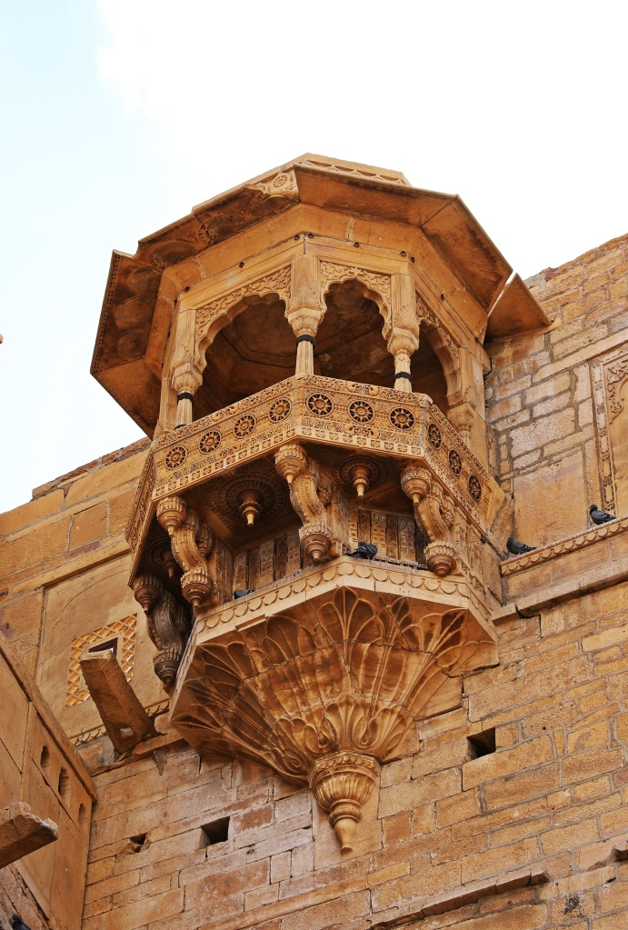 Queen's Balcony, Raj Palace, Jaisalmer Fort