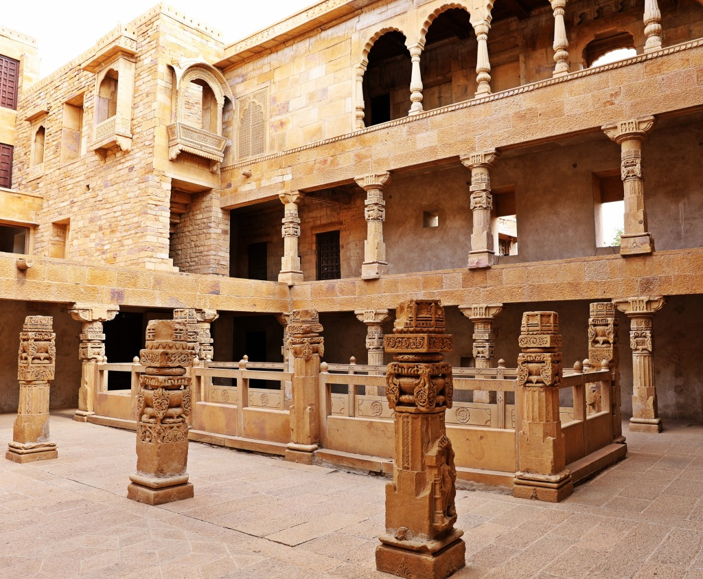 Interior of Raj Palace, Jaisalmer Fort