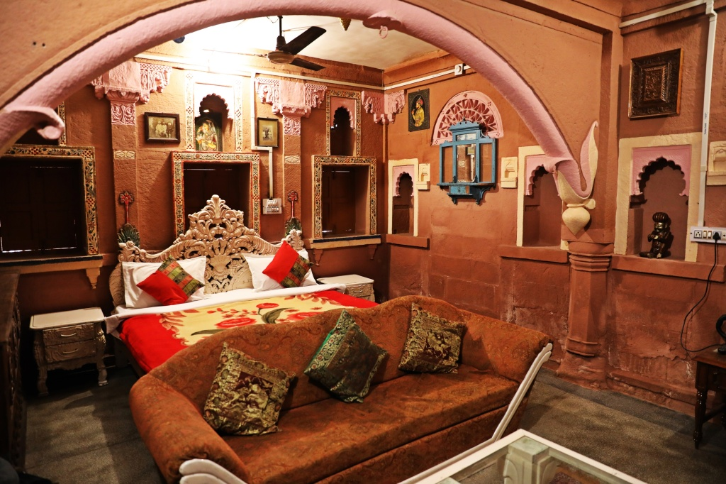 Our hotel room, Jodhpur