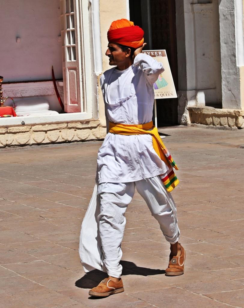 Rajasthani man, Jodhpur