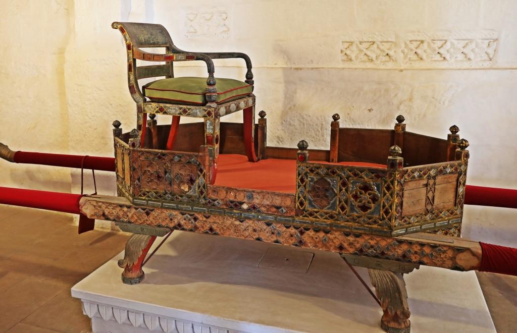 Royal Palanquin , Mehrangarh Fort, Jodhpur