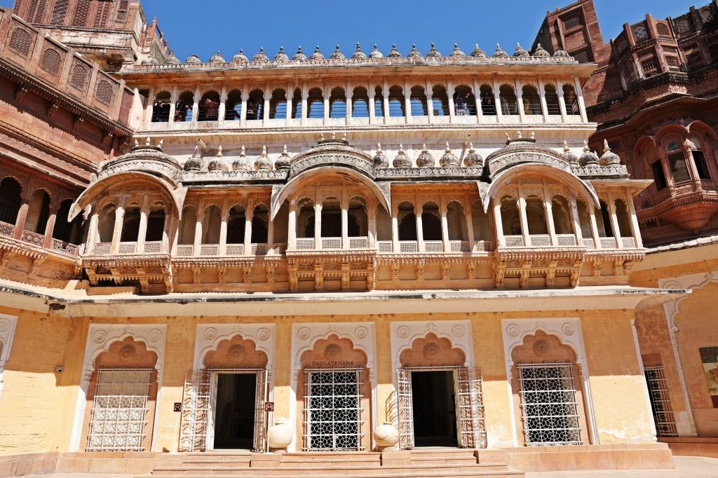 Courtyard, Mehrangarh Fort, Jodhpur
