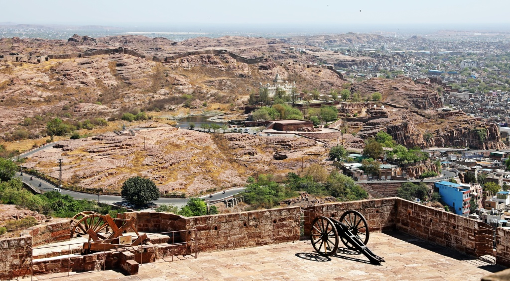 View of Jodhpur from Fort