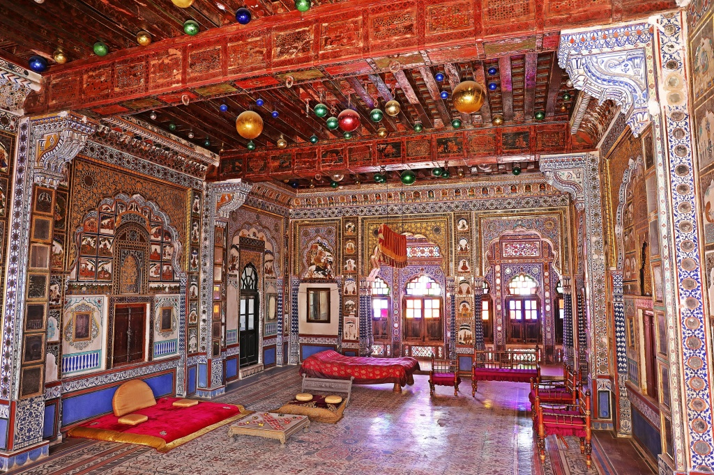 Elaborate room, Mehrangarh Fort, Jodhpur