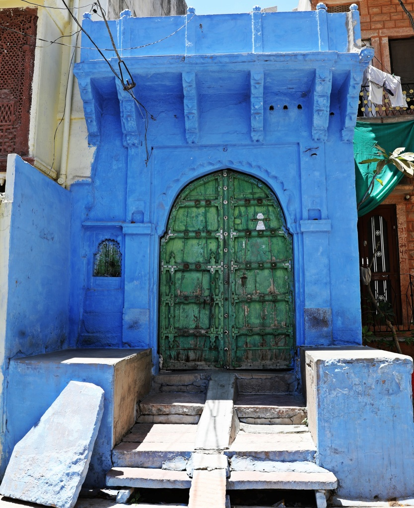Door in Blue city, Jodhpur