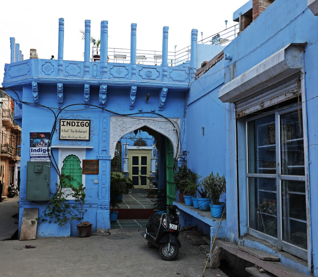Our hotel in Blue City, Jodhpur