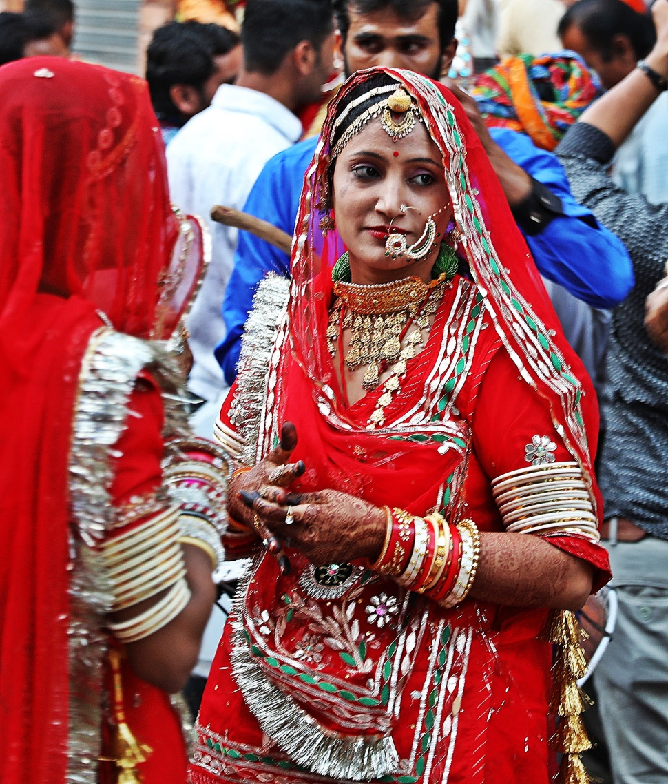 Rajasthani woman, Jodhpur