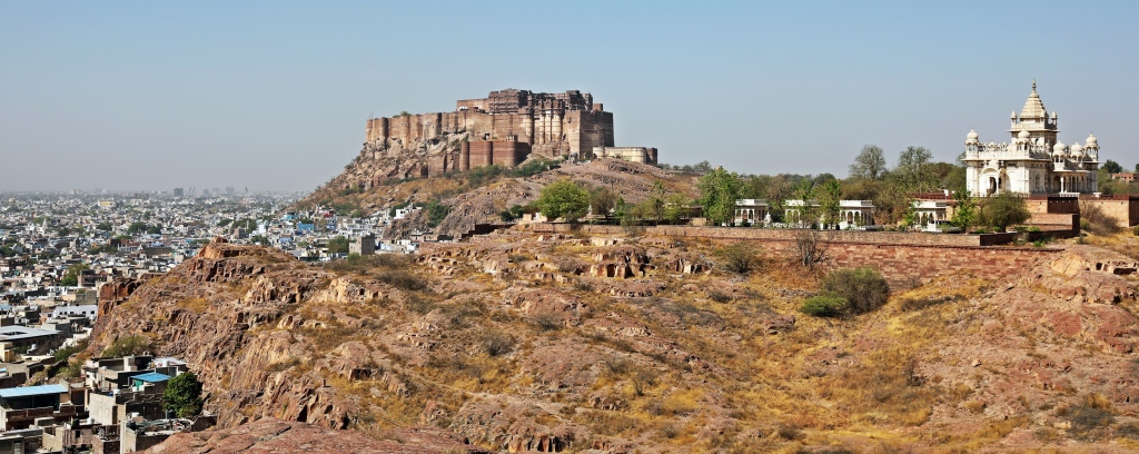 Mehrangarh Fort and Jaswant Thada, Jodhpur
