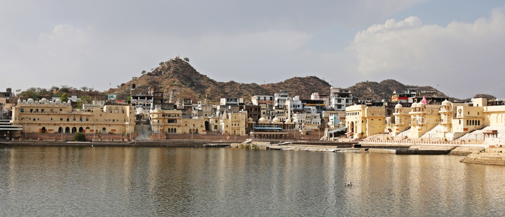 Ghats, Pushkar Lake