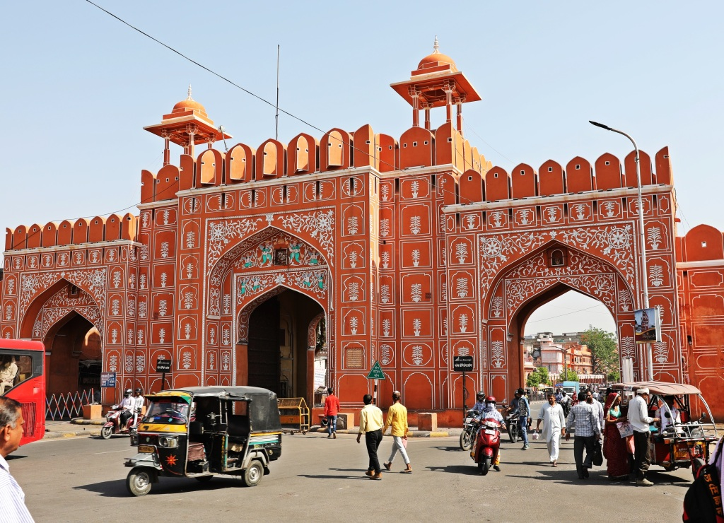 Entrance Gate to Pink City, Jaipur