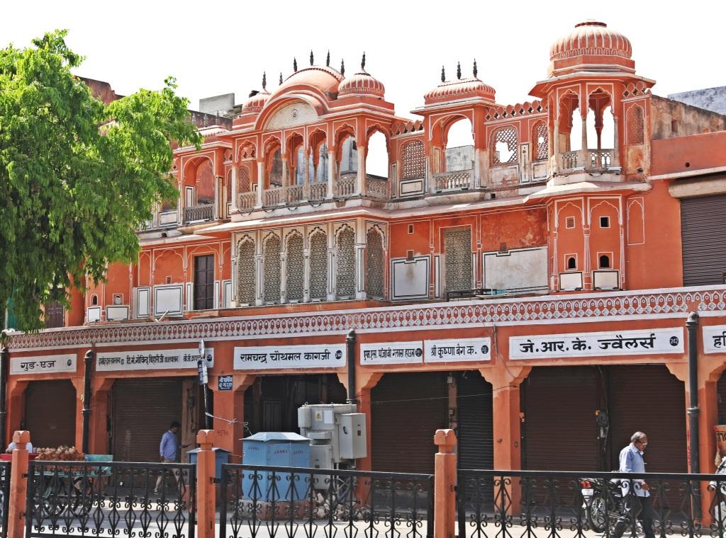 Pink City Market, Jaipur