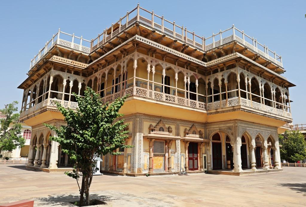 Mubarek Mahal, City Palace, Jaipur