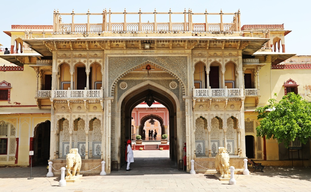 Rajendra Pol (Gate), City Palace, Jaipur