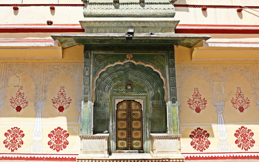 Pritam Niwas Chowk, Green Gate, City Palace, Jaipur