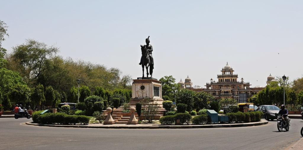 Sawai Man Singh Statue, Jaipur
