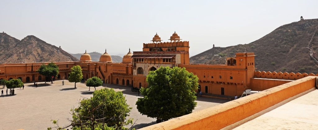 Jalebi Chowk and Sun Gate, Amer Fort