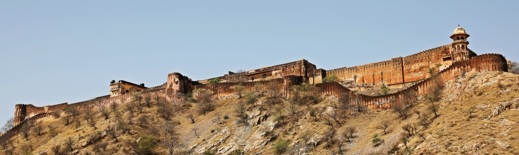 Nahargarh Fort seen from Amer Fort