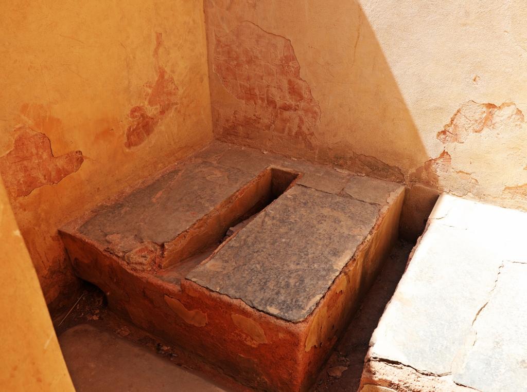 Toilet, Amer Fort