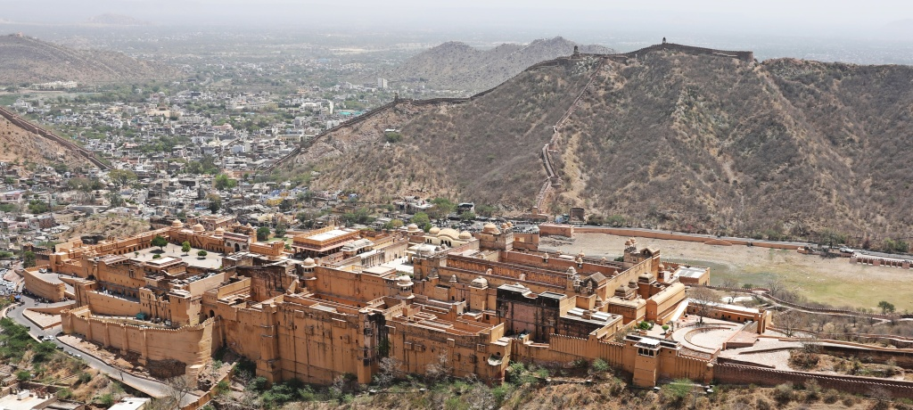 Amer Fort seen from Nahargarh Fort