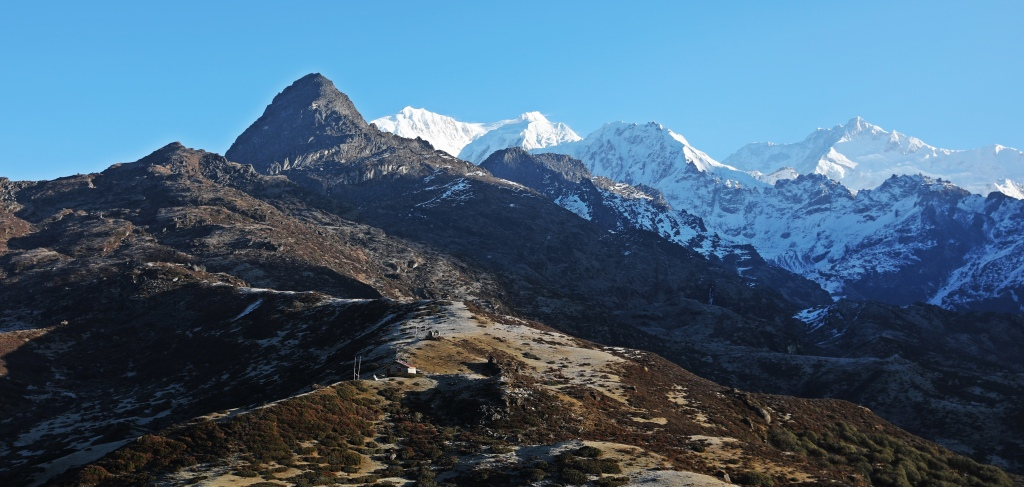 Kanchenjunga far right, Goecha La Trek