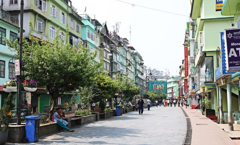 Mahatma Ghandi Marg (Pedestrian Mall), Gangtok
