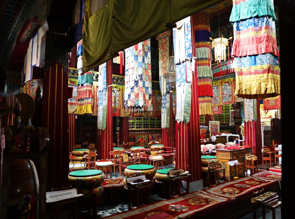 Audience Hall, Rumtek Gompa