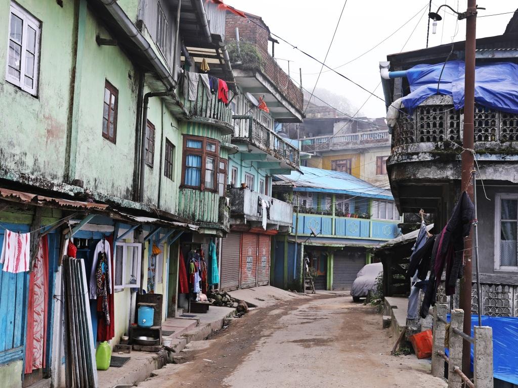 Street in Darjeeling