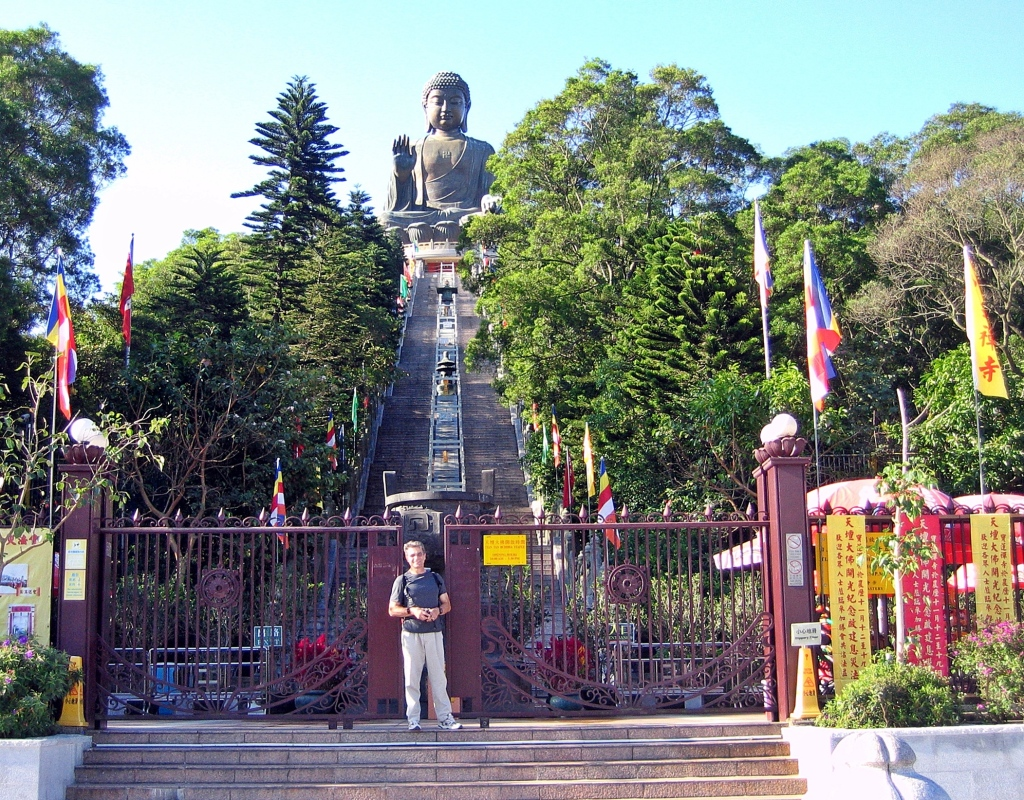Entrance to Big Buddha