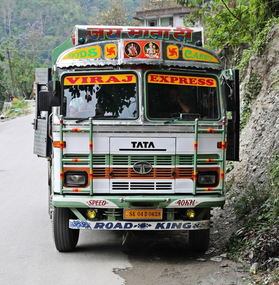 Goods Carrier Truck, India