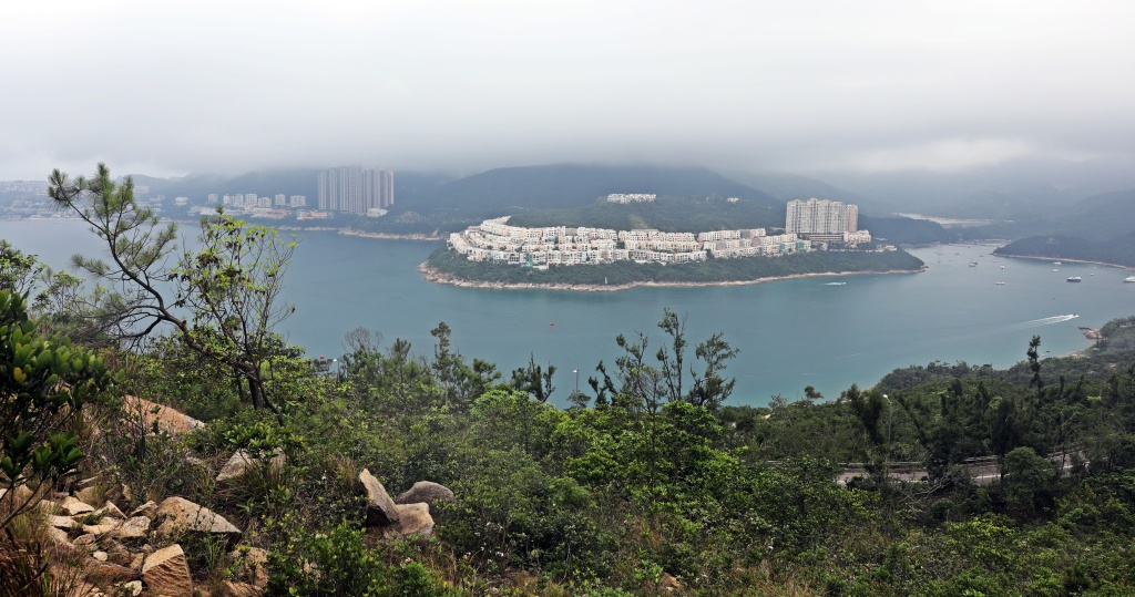 View from Dragon's Back Trail, Hong Kong