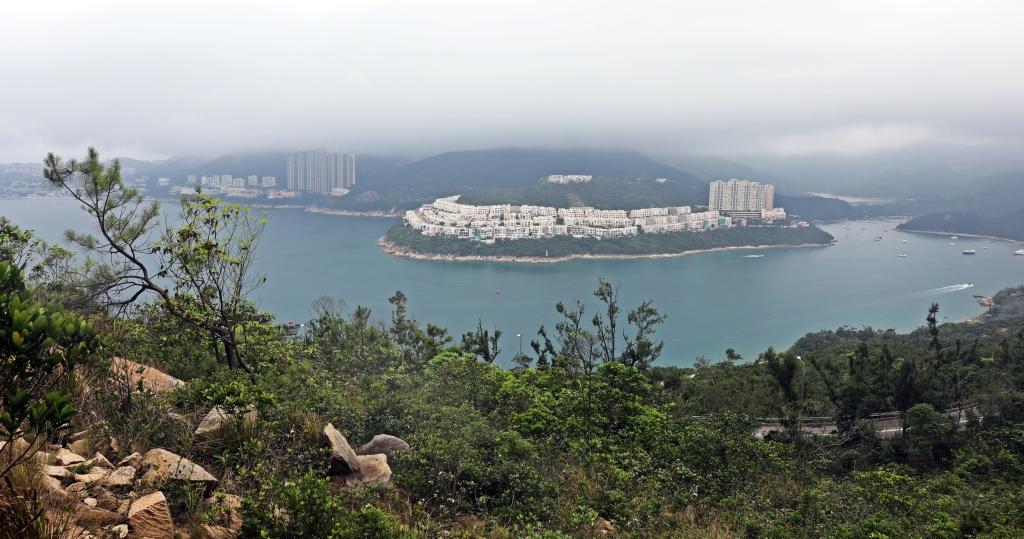 View from Dragon's Back Trail, Hong Kong