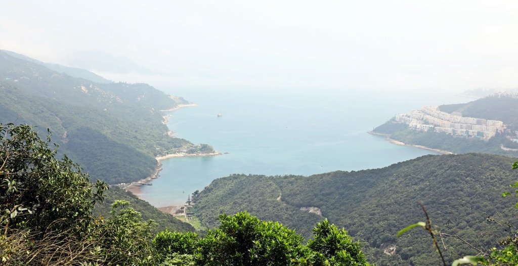 Big Wave Bay, from Dragon's Back Trail