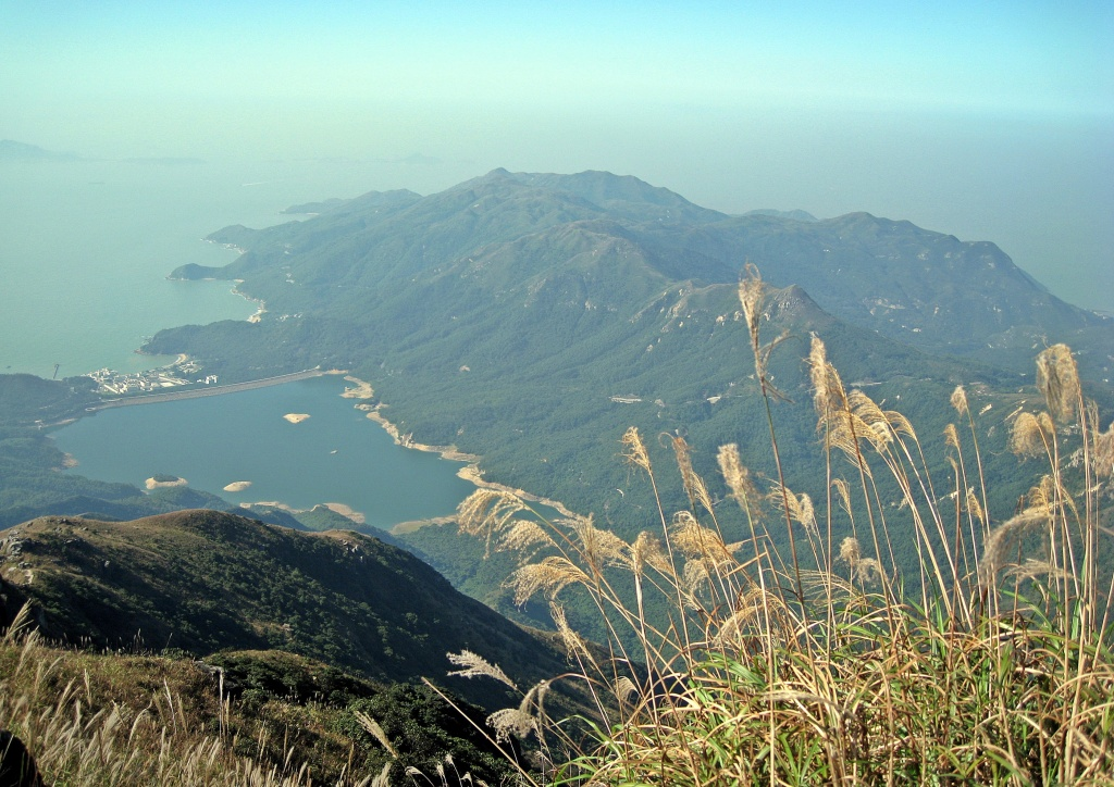 View from Lantau Peak Trail, Hong Kong