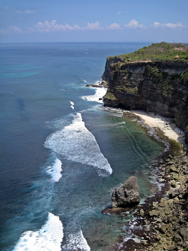 Coast near Uluwatu Temple, Bali