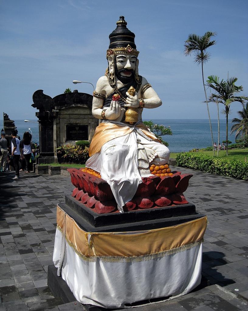 Statue, Tanah Lot Temple, Bali