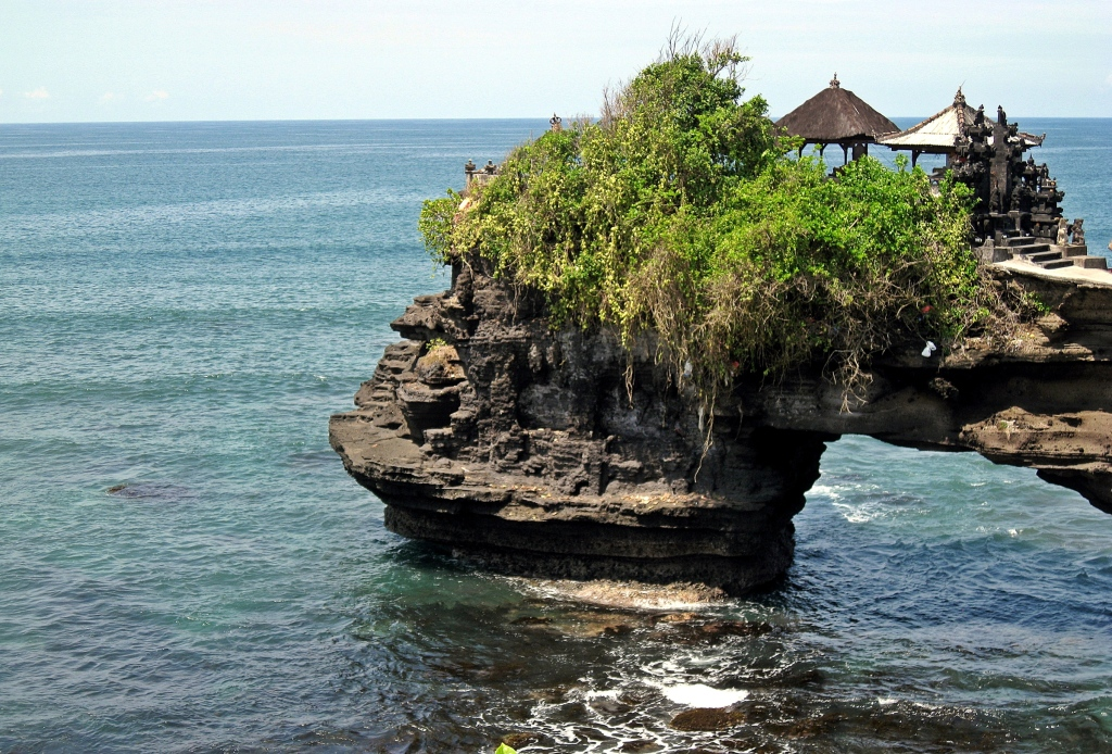 Shrine near Tanah Lot Temple, Bali
