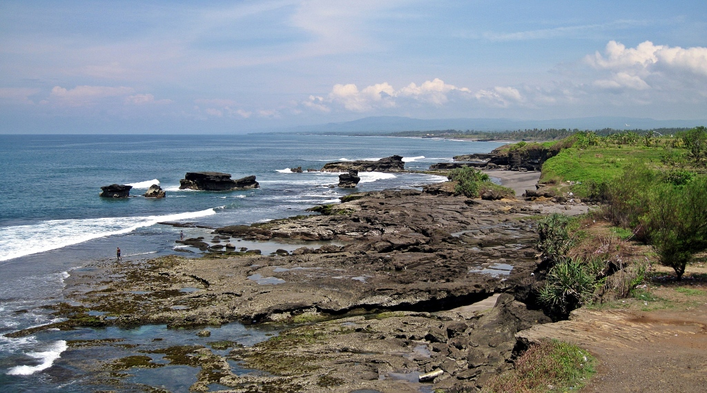 View from Tanah Lot Temple, Bali