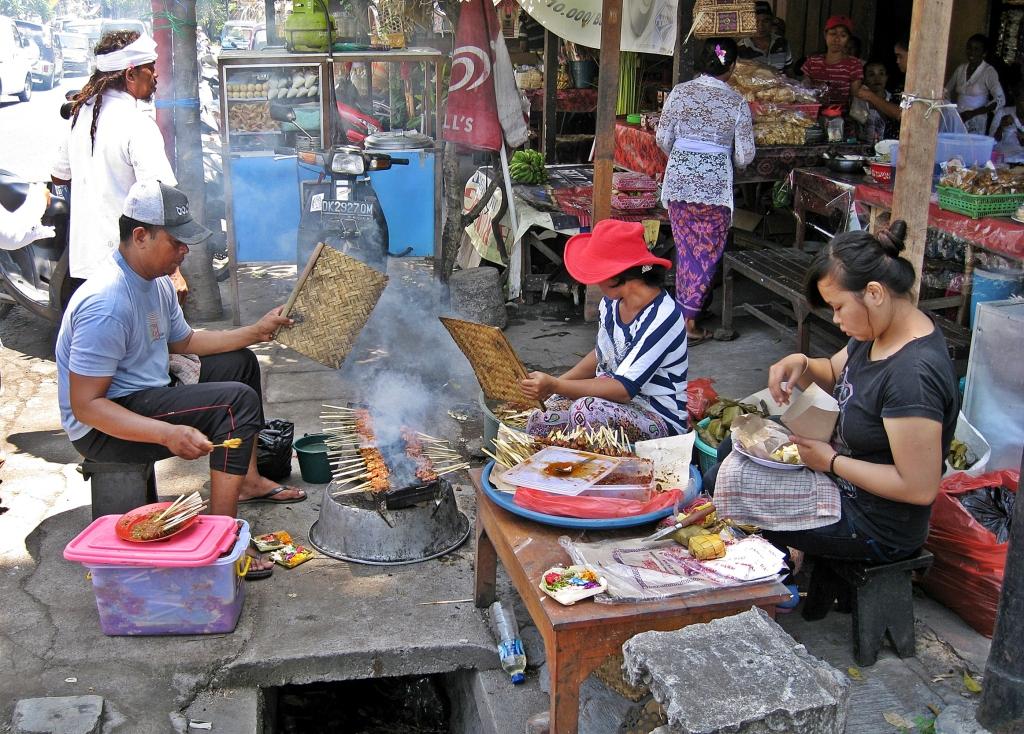 Street food, Bali