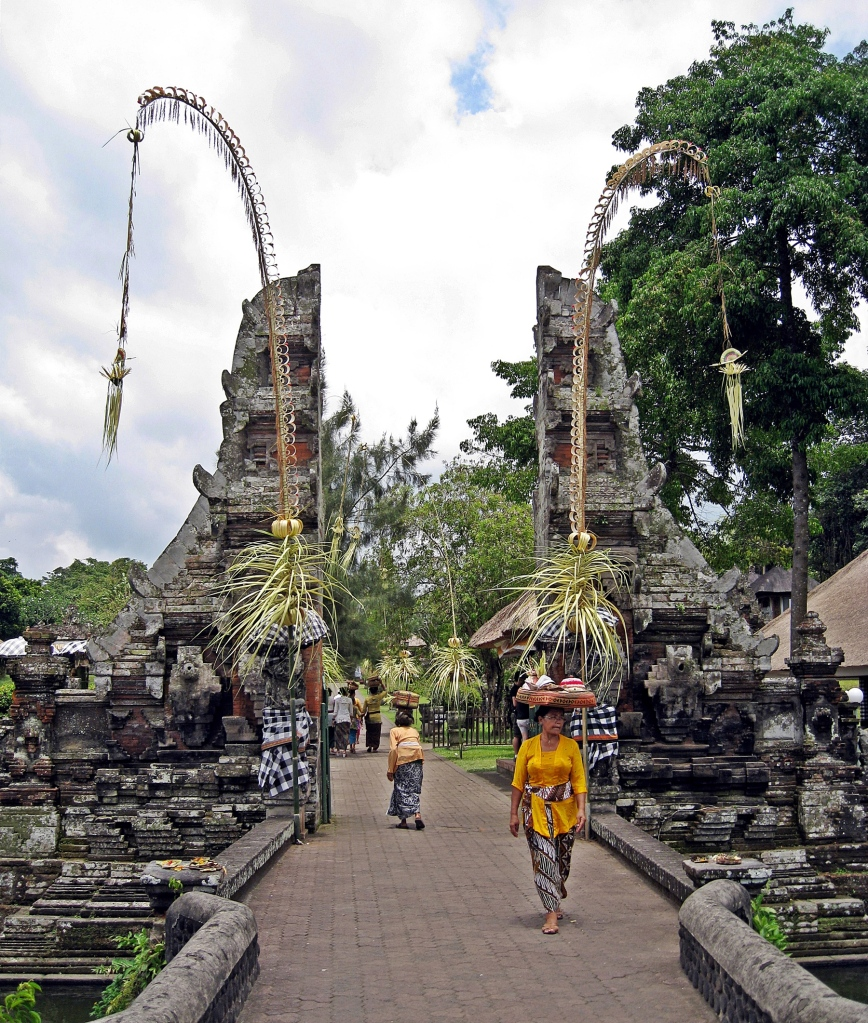 Entrance Gate, Taman Ayun Temple, Bali